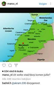 Marrakech Map World by Media Tweets By Pieter Rickinholland Twitter