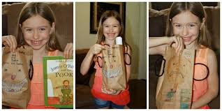 paper bag book report template a learning journey paper bag book report