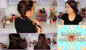 quick and easy hairstyles for long hair youtube