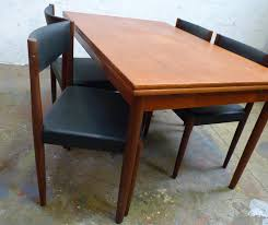 Teak Table And Chairs For Sale by Poul Volther Danish Cord And Teak Chairs From Poul Volther For