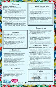 oasis lunch and dinner menu oasis
