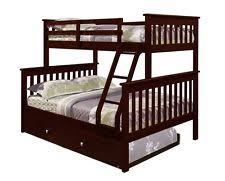 Twin Over Twin Bunk Beds With Trundle bunk bed with trundle ebay