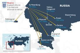 russia world cup cities map world cup 2018 been handed they should get out