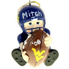 custom west virginia mountaineers ornaments gifts personalized