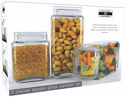 glass kitchen canister sets design photos ideas 100 clear glass