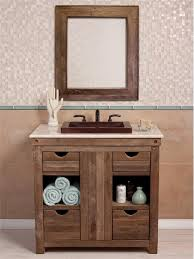 distressed wood bathroom cabinet outstanding distressed bathroom vanities wood purobrandco throughout