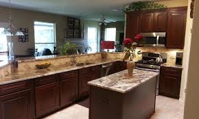 Project Of The Month WinnerNov  Kitchen TuneUp - Cognac kitchen cabinets