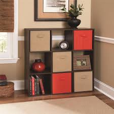 White Cubby Bookcase by Ameriwood Furniture 9 Cube Storage Cubby Bookcase In Resort