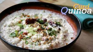 cuisine quinoa curd quinoa indian style quinoa recipe vegetarian lunch