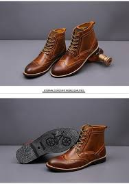 39 45 vintage men winter boots warm winter shoes men boots brogues