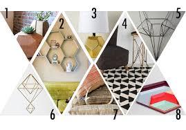geometric home decor geometric home decor hello lidy
