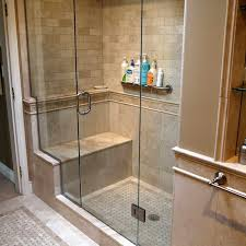 bathroom finishing ideas diy bathroom glass doors installation for splendid finishing touch