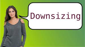 como pronunciar downsizing youtube