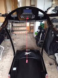 reebok zr9 treadmill excellent condition complete with