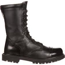 rocky duty boots men u0027s side zipper jump boots
