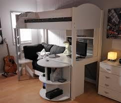 High Sleeper With Sofa And Desk Stompa Casa 4 High Sleeper Bed