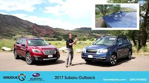 subaru minivan 2016 2017 subaru outback walkaround review test drive youtube