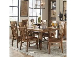 intercon river 7 piece dining table and chair set hudson u0027s