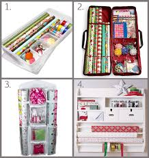 gift wrap storage solutions paper and home