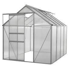 Palram Harmony 6 X 8 Ogrow Walk In 6 Ft X 8 Ft Lawn And Garden Greenhouse With Heavy