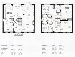 One Story 4 Bedroom House Floor Plans Simple 4 Bedroom House Plans Awesome Baby Nursery 4 Bedroom One