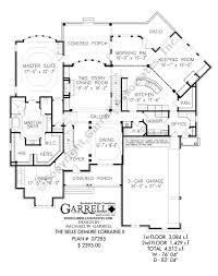 farmhouse house plans belle demure lorraine ii house plan country farmhouse southern