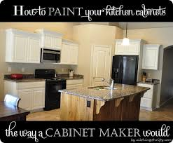 Cabinets Your Way How To Paint Your Kitchen Cabinets Professionally All Things