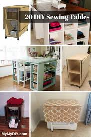 how to make a drop in sewing table the 20 best diy sewing table plans ranked mymydiy inspiring