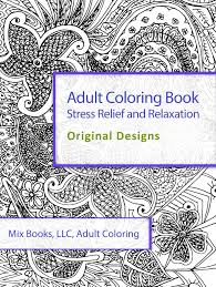 coloring book stress relief and relaxation