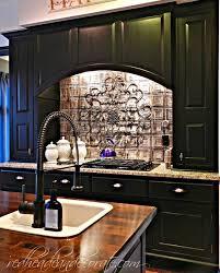 Backsplash For Black Cabinets - diy brick backsplash redhead can decorate