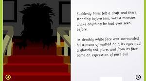 spooky verbs and adverbs in super stories the abandoned house