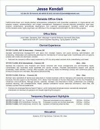 mail clerk resume unforgettable accounting clerk sleresume manager resume