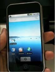 run android on iphone run android on iphone 3g 3gs in dual boot