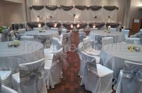 and silver wedding chair cover rentals toronto linen rentals toronto wedding decor