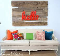 hello sofa 5 ways to decorate with the color orange hello sign diy wall