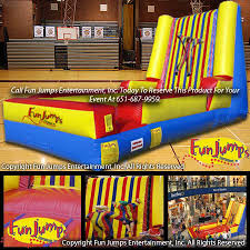 party rental mn velcro wall minnesota inflatables party rental minneapolis mn