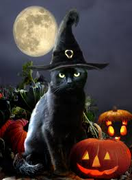vintage halloween decorations reproductions cat art u003d u003d by artist unknown u003d u003d cat art