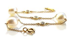 tiffany bracelet pearl images Tiffany co elsa peretti 39 diamonds by the yard 39 bracelet in 18k jpg