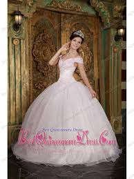 quinceanera dresses light pink light pink gown the shoulder floor length appliques