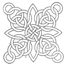 geometric shape coloring page free download