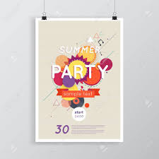 lounge bar party poster cocktails party background summer poster
