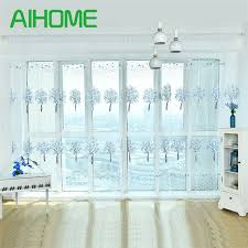 mod鑞e de rideaux de cuisine textile de maison rideaux sheer panneau rideaux pour chambre salon