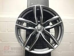 audi titanium wheels 20 rs6 gunmetal titanium style wheels rims 33mm fits audi vw