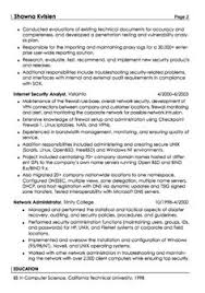 Security Specialist Resume Certified Ethical Hacker Resume Resume Job Pinterest