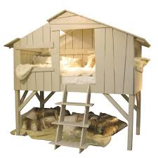 kids treehouse single cabin bed in artichoke cuckooland