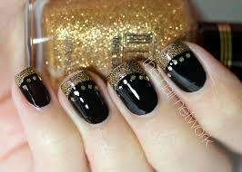 black and gold nail designs blackfashionexpo us