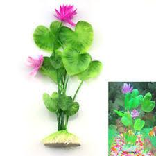 plastic grass for aquarium fish tank green plant flower decoration