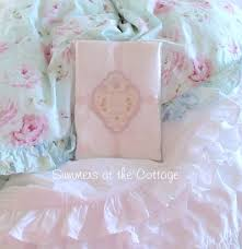 Shabby Chic Bed Set by Shabby Chic Rachel Ashwell White Ruched Ruffle Cotton Poplin Duvet Set
