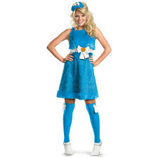spirit halloween dress code sesame street cookie monster sassy female costume