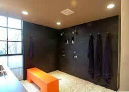 Open Showers No Doors Doorless Shower Designs Teach You How To Go With The Flow